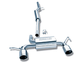 Borla - Stainless Cat Back Exhaust - TT 180Q
