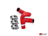Forge-Cam Cover Breather Hose-225 AMU-Red