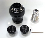 Forge Motorsport - Big Knob - Anodized Black