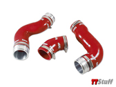 Forge - Silicone Boost Hose Kit - Red - 2.0 FSI