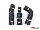 Forge - FMKT024 Boost Hoses-Black-TT RS Mk3