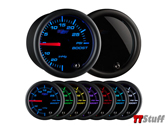 GlowShift-Tinted 7 Color 30 PSI Boost/Vac Gauge