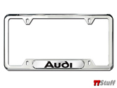 Audi - License Plate Frame - Audi - Polished