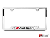 Audi - License Plate Frame - Audi Sport - Polished