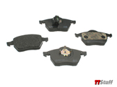 Pagid - Brake Pads - Front Set w/ Sensor - 180 225