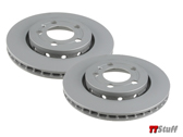 Zimmerman - Brake Rotors - Rear Set - TT 225 3.2