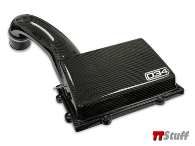 034 - X34 Carbon Fiber MQB Cold Air Intake