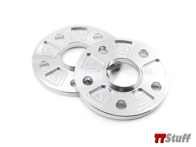 42 Draft Designs - 5x112 Wheel & Hubcentric Spacers - 15mm - Set of 2