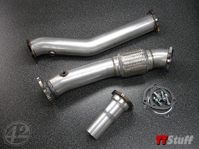 42 Draft Designs - 3'' Downpipe - Race - TT 180Q