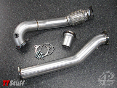 42 Draft Designs - 3'' Downpipe - Race - TT 225