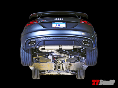 AWE - SwitchPath Exhaust System - TT RS