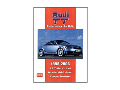 Brooklands Books - Audi TT Performance Portfolio 1998-2006