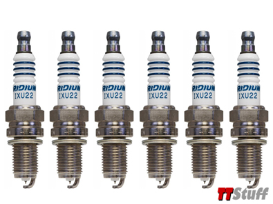 Denso - Iridium Spark Plugs - IXU22 - Set of 6 - 3.2