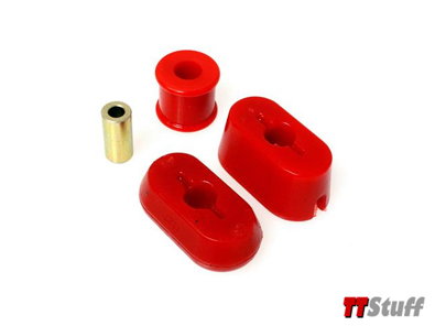 Energy - Poly Dogbone Mount Kit - Red - 1.8T/3.2