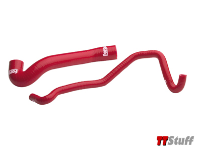 Forge - Silicone DV Boost Hoses TT 225 - Red