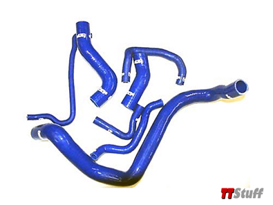 Forge-Coolant Hoses-7 Piece Kit-TT 180-Blue