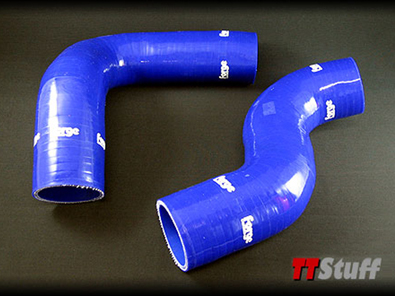 Forge-Silicone Turbo Hoses-Upper-TT 225-Blue