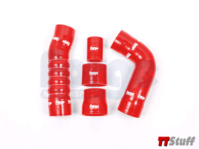 Forge - FMKT024 Boost Hoses - Red - TT RS Mk3