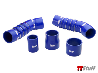 Forge - Silicone Boost Hose Kit - Blue - TT RS