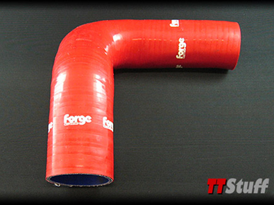 Forge-Silicone Turbo Hoses-Upper-Left-TT 225-Red