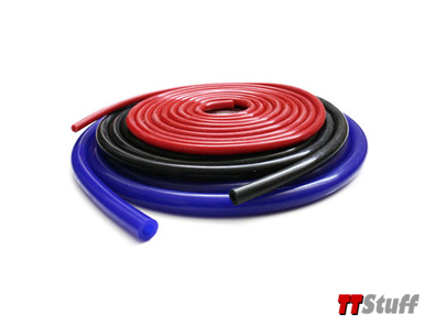 Forge-Silicone Vacuum Tubing-3mm-Red