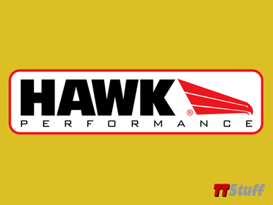 Hawk - Ceramic Brake Pads - Rear - 180 225 3.2