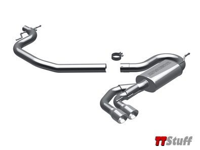 MagnaFlow - Cat Back Exhaust - TT 2.0T FWD