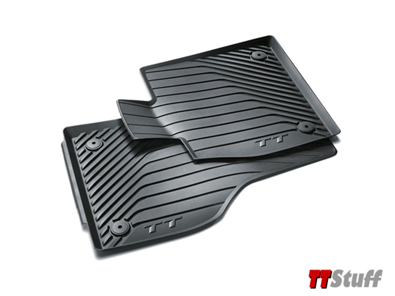 Audi - All Weather Rubber Floor Mats - TT Mk3
