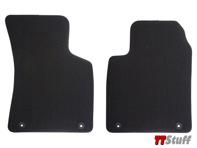 Audi - Carpeted Floor Mats - Black