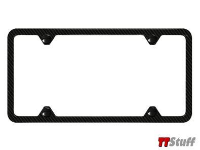 Audi - Slimline License Plate Frame - Carbon