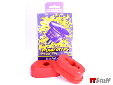 Powerflex - Poly Dogbone Mount Kit Red-1.8T/3.2