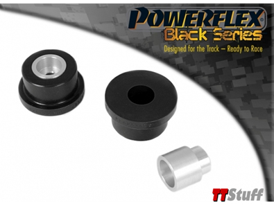 Powerflex - Polyurethane Rear Diff Rear Mount Bushings - Black