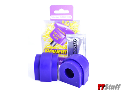 PowerFlex - Polyurethane Rear Anti Roll Bar Bushings - 20.5mm - Set of 2 - TT Mk2