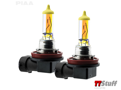 PIAA - Plasma Ion Yellow Twin Pack H8 18535