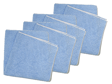 Microfiber - 4 Pack - Plush Microfiber Cloths