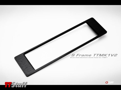 OSIR - S Frame V2 - Brushed Black - TT Mk1