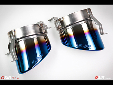 OSIR - Blue Flame Exhaust Tips - TT RS