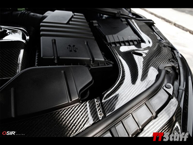 OSIR - Engine Bay Covers-Gloss Carbon-TT Mk2