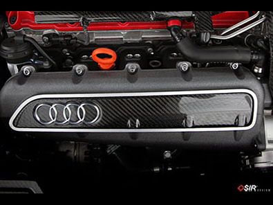 OSIR - Engine Intake Cover-TT RS -Gloss Carbon