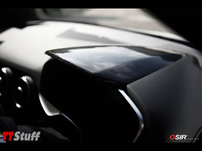 OSIR - Dash Top Cover - Gloss Carbon - TT Mk3