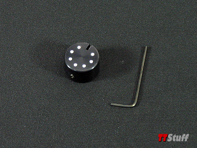 TT Stuff - Mirror Switch Cover V2-Black - TT Mk1