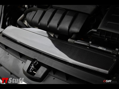 OSIR - Intake Cover GT7 - Gloss Carbon