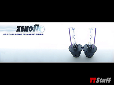 XENOflo - HID Color Upgrade Bulb Set - D2S/D2R HID Bulbs - 6000k Color - Twin Pack