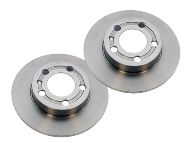 Zimmerman - Brake Rotors - Rear Set -TT 180FWD