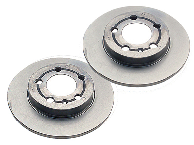 Zimmerman - Brake Rotors - Rear Set - TT 180Q