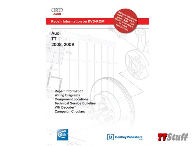 audi tt stuff bentley official audi tt repair manual 2008 2009 rh ttstuff com Audi TT Manual Transmission 2008 audi tt owners manual download