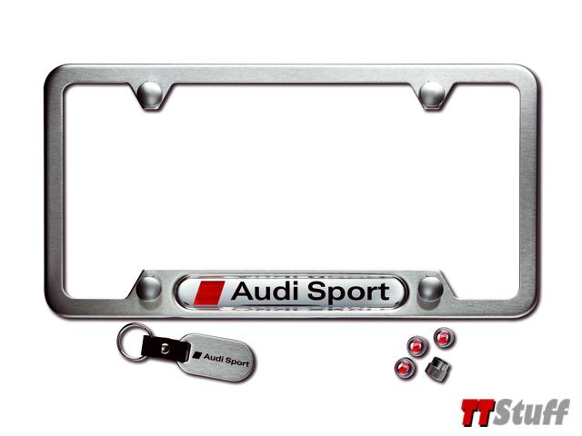 Audi TT Stuff: Audi - License Plate Frame - Gift Set - Audi Sport ...