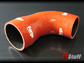Forge-Silicone Turbo Outlet Hose-TT 225-Oxide