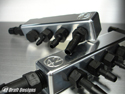 42 Draft Designs-Inline Vacuum Manifold Kit-Black Powdercoat Finish