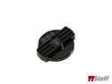 Forge - Alloy Oil & Water Cap Set - 2.0T - Black
